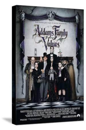 ADDAMS FAMILY VALUES [1993], directed by BARRY SONNENFELD.--Stretched Canvas Print