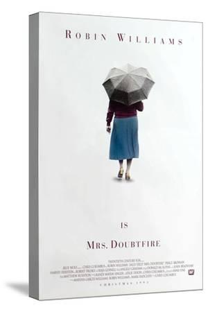 Mrs. Doubtfire [1993], directed by CHRIS COLUMBUS.--Stretched Canvas Print