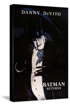 "DANNY DEVITO. ""BATMAN RETURNS"" [1992], directed by TIM BURTON.--Stretched Canvas Print"