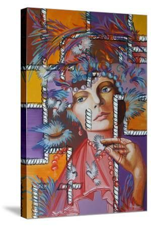 Feather Hat, 2015--Stretched Canvas Print