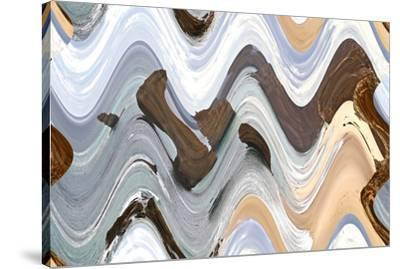 Apostile Wavy 4, 2016--Stretched Canvas Print