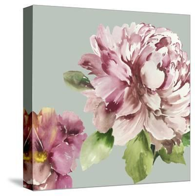 Pink Peony I-Asia Jensen-Stretched Canvas Print