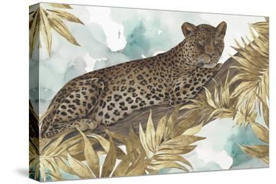 Golden Leopard-Eva Watts-Stretched Canvas Print