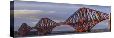 Forth Railway Bridge, Scotland. Completed 1890.-Joe Cornish-Stretched Canvas Print