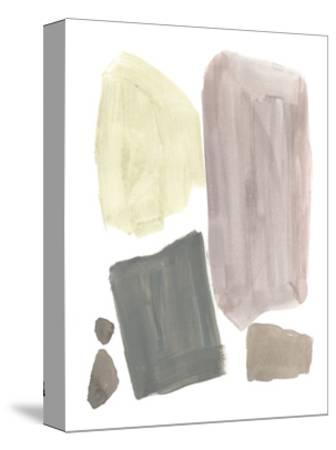 Muted Mod Shapes IV-Jennifer Goldberger-Stretched Canvas Print