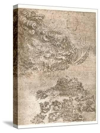 Representation of a tempest, c1472-c1519 (1883)-Leonardo da Vinci-Stretched Canvas Print
