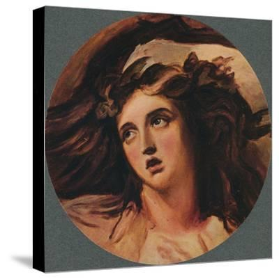 Emma Hart (Lady Hamilton), 18th century, (1902)-George Romney-Stretched Canvas Print