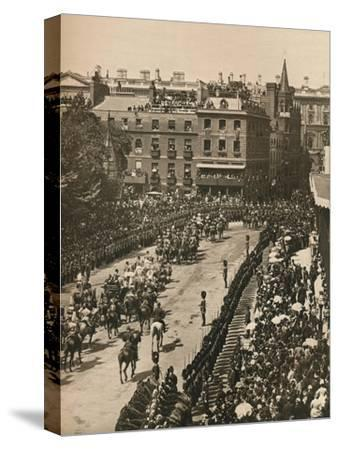 Queen Victoria's Diamond Jubilee, 1897 (1906)-London Stereoscopic & Photographic Co-Stretched Canvas Print