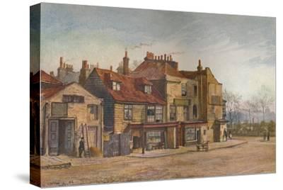 View of Lawrence Street, Chelsea, London, 1882-John Crowther-Stretched Canvas Print