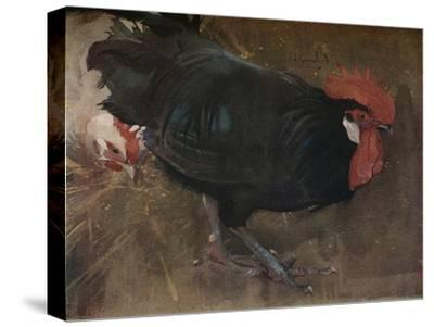 'The Black Cock', c1894-Joseph Crawhall-Stretched Canvas Print