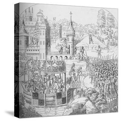 The Peasants' Revolt of 1381, 1804 (1906)-John Harris the Elder-Stretched Canvas Print