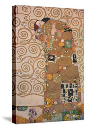 'Die Erfüllung', 1905-Gustav Klimt-Stretched Canvas Print
