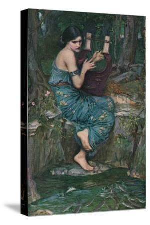 'The Charmer', 1911-John William Waterhouse-Stretched Canvas Print