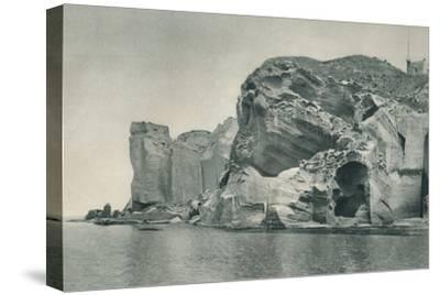 Entrance to a sulphur spring, Ischia, Italy, 1927-Eugen Poppel-Stretched Canvas Print