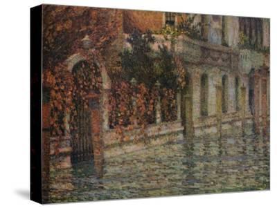 Le Palais Blanc, Automne, Venise', c1906, (1918)-Henri Eugene Le Sidaner-Stretched Canvas Print