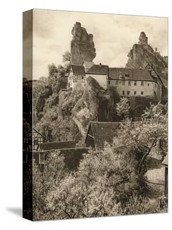 'Tuchersfeld (Frankische Schweiz). Judehof', 1931-Kurt Hielscher-Stretched Canvas Print
