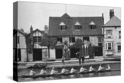 'The Boathouse After Reconstruction, 1909', 1935-Mr Mundy-Stretched Canvas Print