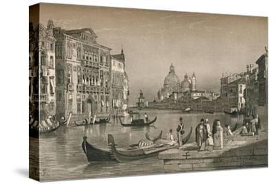 'Venice', c1830 (1915)-Samuel Prout-Stretched Canvas Print