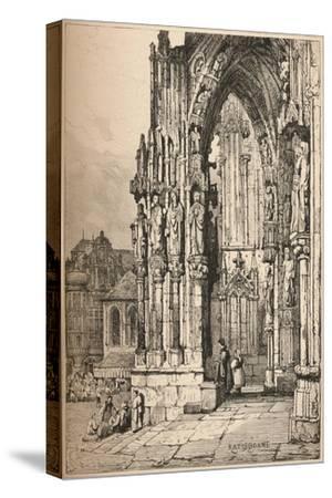 'Ratisbon', c1820 (1915)-Samuel Prout-Stretched Canvas Print