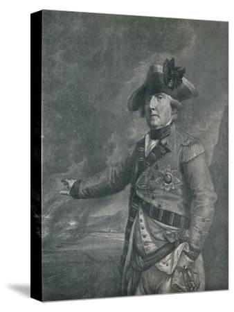 'George Augustus Elliot (Lord Heathfield), Governor of Gibraltar', 1788 (1909)-Francesco Bartolozzi-Stretched Canvas Print