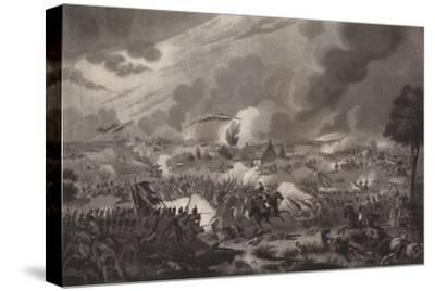 'The Battle of Waterloo, June 18, 1815', 1817 (1909)-Richard Gibson Reeve-Stretched Canvas Print
