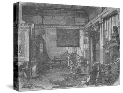 'Alma Tadema's Former Studio', 1890-William Hatherell-Stretched Canvas Print