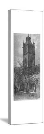'St. Giles's, Cripplegate', 1890-A W Henley-Stretched Canvas Print