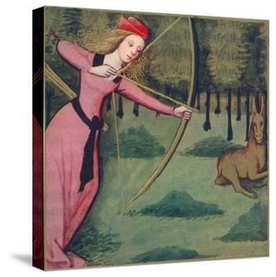 'Zenobie - Reine De Palmyre', 1403, (1939)-Master of Berry's Cleres Femmes-Stretched Canvas Print