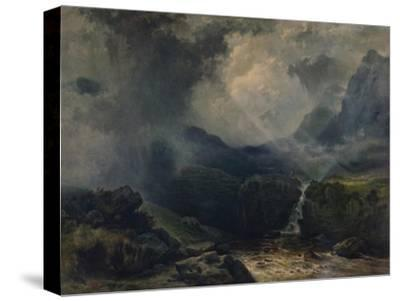 'A Rift in the Gloom', 19th century, (1935)-George Edwards Hering-Stretched Canvas Print