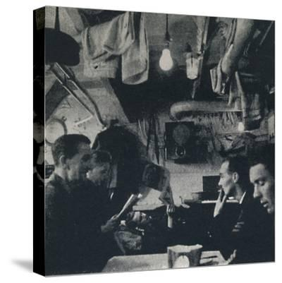 'Functional use of space on the mess deck', 1941-Cecil Beaton-Stretched Canvas Print