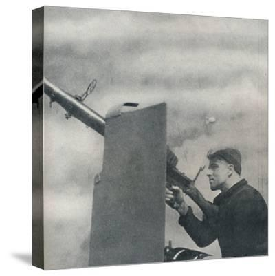 'Mark over!', 1941-Cecil Beaton-Stretched Canvas Print