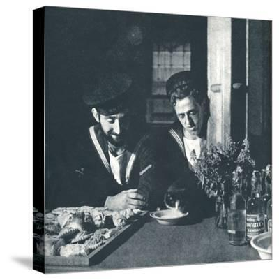'Soft drinks', 1941-Cecil Beaton-Stretched Canvas Print