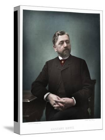 Gustave Eiffel, French engineer, 1880-Eugene Pirou-Stretched Canvas Print