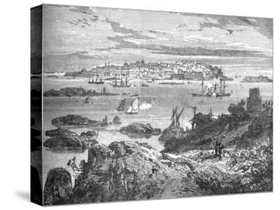 'Sweaborg', c1880-Richard Principal Leitch-Stretched Canvas Print