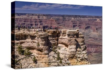 The USA, Arizona, Grand canyon National Park, South Rim, Mather Point-Udo Siebig-Stretched Canvas Print