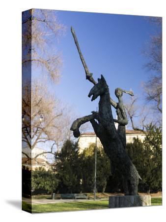 Giardini Pubblici Indro Montanelli in Milan-enricocacciafotografie-Stretched Canvas Print