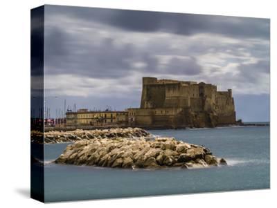Castel dell'Ovo in Naples-enricocacciafotografie-Stretched Canvas Print