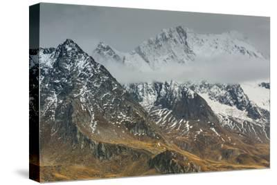 Europe, Austria/Italy, Alps, Mountains, View from Passo Rombo - Timmelsjoch-Mikolaj Gospodarek-Stretched Canvas Print