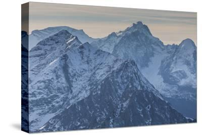 Europe, Germany, Bavaria, Alps, Mountains, Mittenwald, View from Karwendel-Mikolaj Gospodarek-Stretched Canvas Print