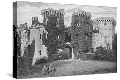 'Raglan Castle: The Gateway', c1896-GW Wilson and Company-Stretched Canvas Print