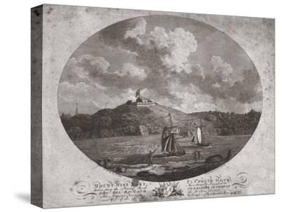 'Mount Wise Fort, Plymouth Dock.', 1780-Benjamin Thomas Pouncy-Stretched Canvas Print