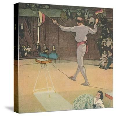 'The Tight-Rope Dancer', 1919-Mabel Alington Royds-Stretched Canvas Print