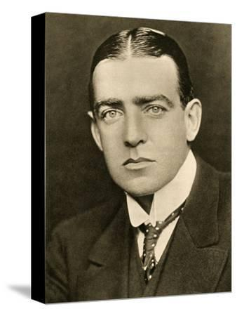 'Portrait of E. H. Shackleton', c1905, (1909)-George Charles Beresford-Stretched Canvas Print