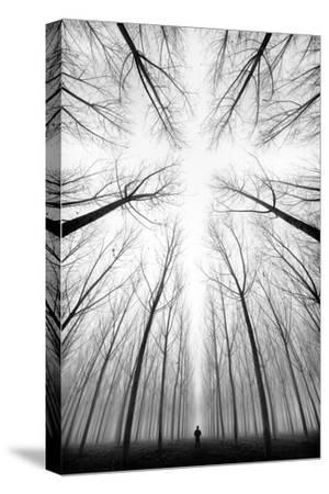 THE CROSS-Marco Bizziocchi-Stretched Canvas Print
