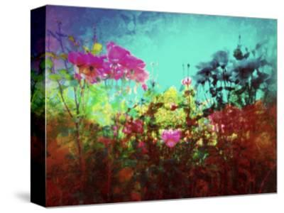 ON AN INTUITIVE LEVEL-Sylver Bernat-Stretched Canvas Print