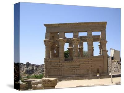 The Kiosk of Trajan, Philae, Egypt-Werner Forman-Stretched Canvas Print