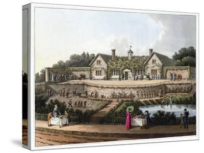 'The Work House', 1816-Humphry Repton-Stretched Canvas Print