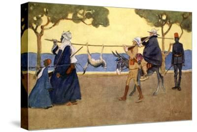 Big Game Hunters', 1908-Lance Thackeray-Stretched Canvas Print