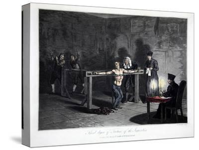 Third Degree of Torture of the Inquisition', 1813-LC Stadler-Stretched Canvas Print