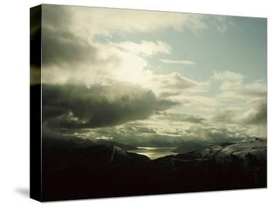 Sogne Fjord-Werner Forman-Stretched Canvas Print
